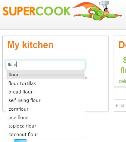 Supercook magazine recipes